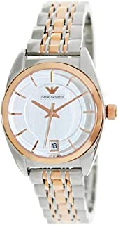 Emporio Armani Casual Watch Analog Display Japanese Quartz for Women AR0380