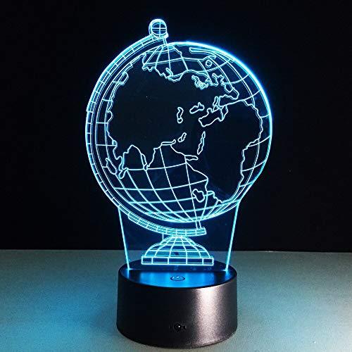 Jiushixw 3D acryl nachtlampje met afstandsbediening kleurverandering tafellamp solar tafellamp paard baby nachtlampje toiletlamp energiebesparende tafellamp gang l