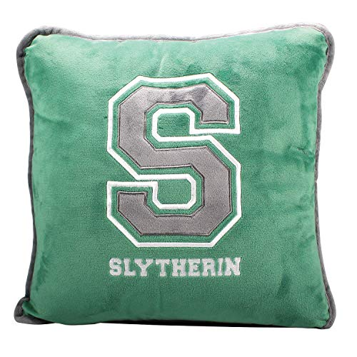 Harry Potter Filled Cushion - S For Slytherin