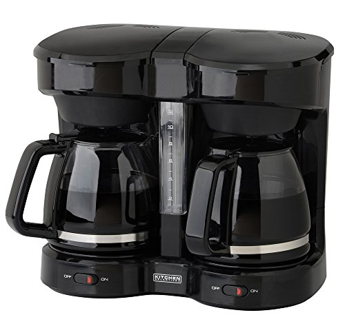 Kitchen Selectives Drip Coffee Maker, 12-Cup, Black