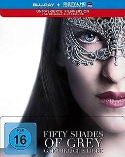 Fifty Shades of Grey - Gefährliche Liebe - Unmaskierte Filmversion + Kinofassung (Blu-ray)