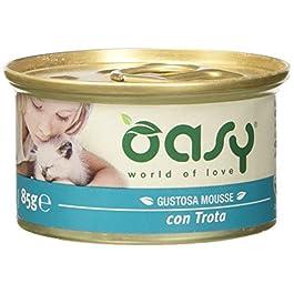 Oasy Trout Pâté for Cats, 85g