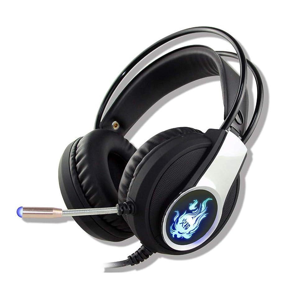 責優先とんでもないゲーミングヘッドフォンステレオノイズキャンセリングエルゴノミクスPC用軽量ヘッドセット、Xbox One、PS4、Nnintedoスイッチ(カラー:ブラック)