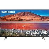 SAMSUNG UN70TU7000B 70-Inch Crystal 4K Ultra HD HDR Smart LED TV - 3840 x 2160-120 MR - Wi-Fi - Bluetooth - Alexa - Google Assistant - Titan Gray (Renewed)