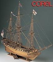 木製帆船模型 コーレル SM11 HMSユニコーン
