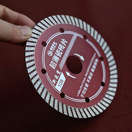 KEKEYANG Una clase de alta calidad 110 * 20 * 1.4 * 8 mm de corte turbo caliente del diamante de sierra azulejos envío libre especial con buena nitidez Herramientas