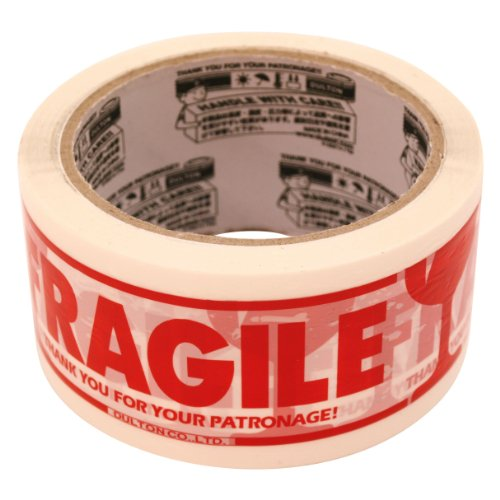 PRINTED PACKING TAPE(カートンテープ)【FRAGILE】 PPT-1