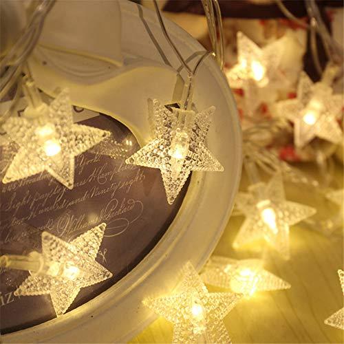 BOENTA Led Lichterkette Foto Lichterkette Lichterkette Bedroom Fairy Lights for Girls Led String Lights Battery Powered Lights for Decoration Bedroom Fairy Lights 5m
