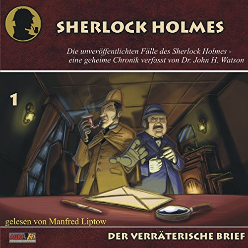 Der verräterische Brief audiobook cover art
