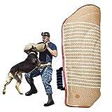PetGens Kit di Allenamento per Cani, Protezione per Le Braccia, Juta Durevole per addestramento di Cani di Taglia Media, Accessori educativi e per addestramento per allenare i cani, 60 x 30 cm