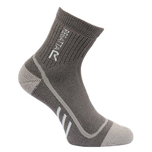 Regatta Damen Heavyweight Trek und Trail Sock Granite/Yucca 3-5