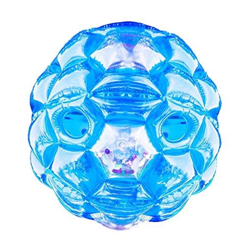 Bubble Ball Bumper Soccer Ball für Kinder Herren Damen im Freien - blau, 60cm