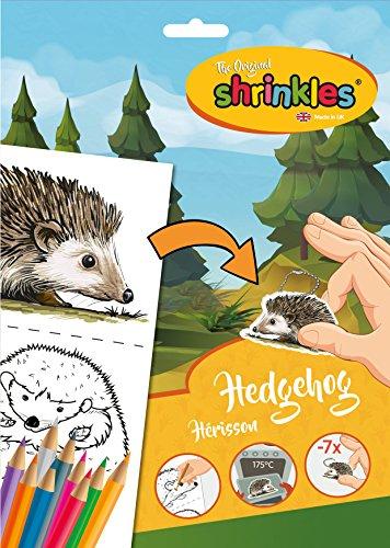 Shrinkles- Wz078.Originale Woodland Animals Hedgehog Slim Confezione, Colore Unknown