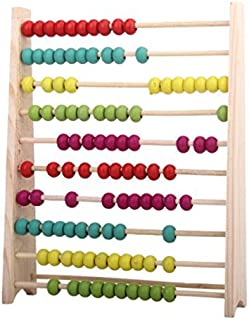 Classic Wooden Abacus Educational Toy for Kids Children Colourful