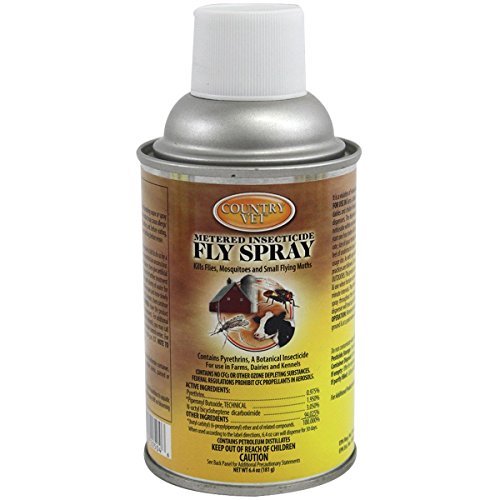 Zep 34-2050CVA Country Vet Metered Fly Control Spray, Refill, 30 Day Supply, Brown/A