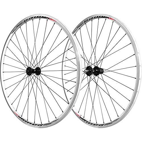 Velox Unisex's Mach1 Omega 22 - Rueda de Bicicleta de Carretera, Color Plateado, 700c (Delantero)