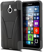 Microsoft Lumia 640 XL Phone Case, [Storm Buy ] Premium Hard & Soft Sturdy Durable Rugged Shell Hybrid Protective [ Anti Scratch ] Phone Case Cover with Built in Kickstand For Microsoft Lumia 640XL 5.7