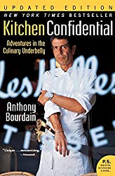 A nonfiction memoir about a superstar chef - Kitchen Confidential by Anthony Bourdain
