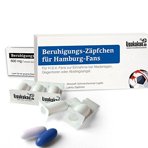 Geschenk männer ist jetzt BERUHIGUNGS-ZÄPFCHEN® für HSV-Fans by Ligakakao.de