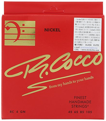 R.Cocco リチャードココ ベース弦 RC4G N (ニッケル .045-.105)