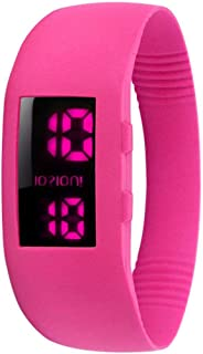 IOION L-ELBO8-II Casual Watch For Unisex Digital Silicone - Blue