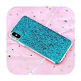 Coque de téléphone à paillettes pour iPhone 12 11 Pro Xs Max Luxe Soft Epoxy Crystal Cover pour...