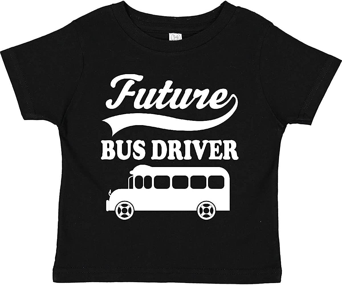 inktastic Future Bus Driver Shirt Childs Occupation Toddler T-Shirt