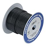 Ancor Marine Grade Primary Wire and Battery Cable (Black, 100 Feet, 10 AWG)