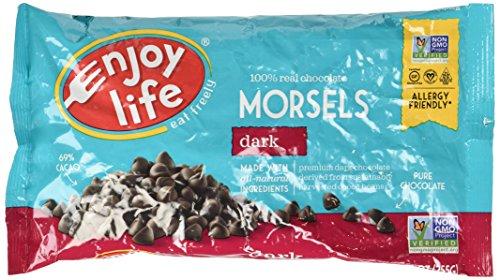Enjoy Life Morsels Dark Chocolate 9 Oz Pack of 5