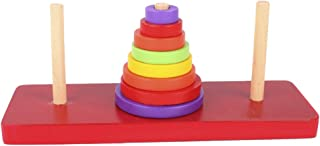 "Flameer 1x Wooden Puzzle ""The Tower of Hanoi"" Kids Adult Favour IQ Game Toy Brain Teaser"