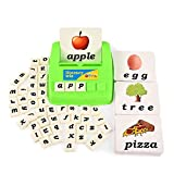 BOHS Literacy Wiz Fun Game -Lower Case Sight Words - 60 Flash Cards - Preschool Language Learning Educational Toys