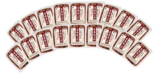 有機小豆入り玄米おこわ160g×20個★温めるだけで手軽に食べられるパックタイプ★有機玄米(秋田産)、有機もち玄米(富山・秋田・山形産)、有機小豆(北海道産)、食塩(海の精)使用