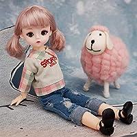 女の子 人形 プリンセストイ プレイハウス かわいいビニール人形 ドレス アクセサリー 30CM 人形 子供の贈り物 クリスマス お誕生日,I