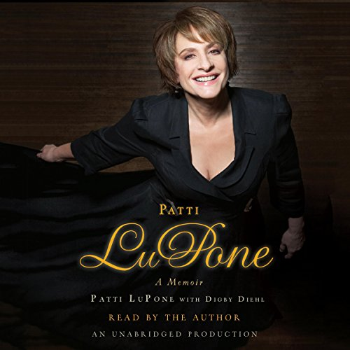 Patti LuPone audiobook cover art