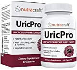 UricPro #1 Uric Acid Cleanse Supplement | Natural Joint Inflammation & Future Attack Relief | Tart Cherry, Celery, Turmeric, Milk Thistle, Bromelain & More | Made in USA | 60 Capsules