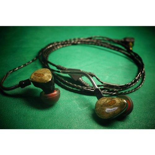 HEIR AUDIO IEM 5.0 een handgemaakte In Ear Monitor Oortelefoon (afneembare kabel)