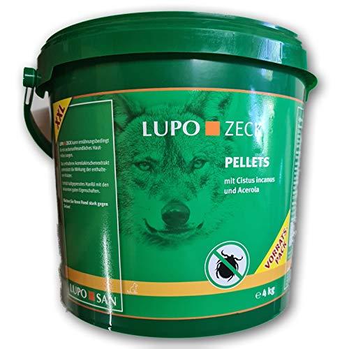 Luposan Lupo ZECK - Zeckenschutz für deinen Hund (4kg (Sonderedition-Vorratspackung))