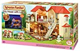 SYLVANIAN FAMILIES- City House with Lights Casa de Mini Muñecas y Accesorios, Multicolor, 65.0 x 34.8 x 20.6 (Epoch para Imaginar 2750)