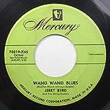 Jerry Byrd 45 RPM Wanng Wang Blues / Hawaiian Sunset
