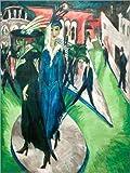 Poster 30 x 40 cm: Potsdamer Platz von Ernst Ludwig
