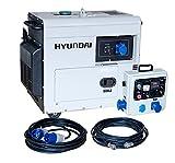 Hyundai, DHY6500SE-LRS Generador Diésel, específico para apoyo solar