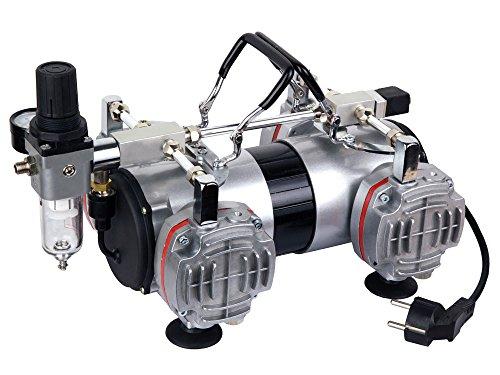 Airbrush Hobby vierkolben Kompressor Fengda® AS-48