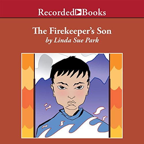 The Firekeeper's Son audiobook cover art