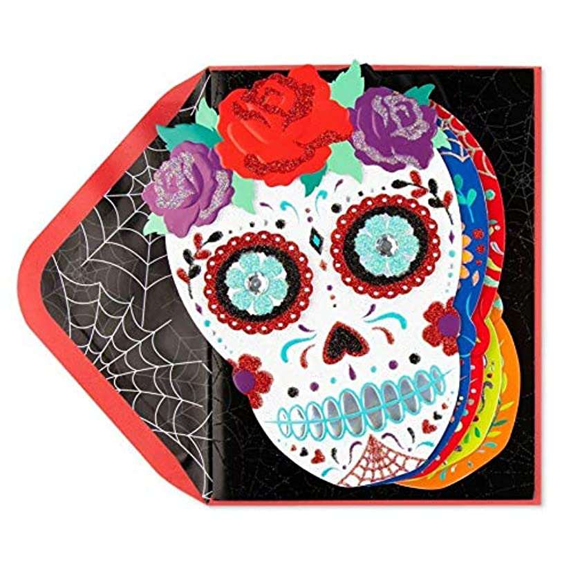 Día de los Muertos Day Of The Dead Banner Halloween Night Mystery Card Greeting Halloween Card Party For Friends