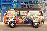 Volkswagen - Camper - Cuba - VW Bus Klassiker Oldtimer