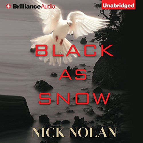 Black as Snow audiobook cover art