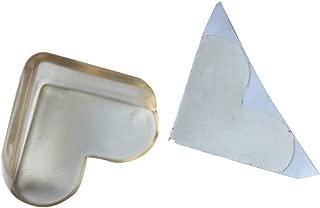 Gugutogo 10 Piezas de Almohadillas de Esquina anticolisi/ón de PVC Transparente Espesar Forma de coraz/ón Cuidado del Crecimiento de los ni/ños