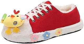 ZOSYNS Damesschoenen, winter, katoenen schoenen, zeildoekschoenen, outdoor, wandelschoenen, warm gevoerd, modieus, casual,...