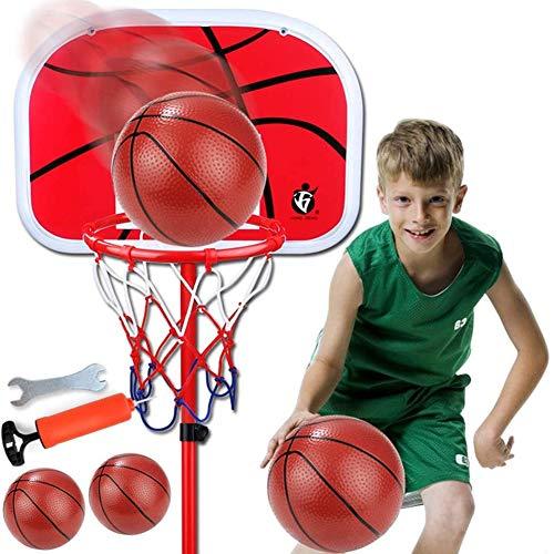 Skysep Al Aire Libre hasta 78.7 Inches Ajustable Jardín Aro Baloncesto Canasta Baloncesto Infantil Altura Ajustable Tablero Infantil Baloncesto Juego Regalo Interior