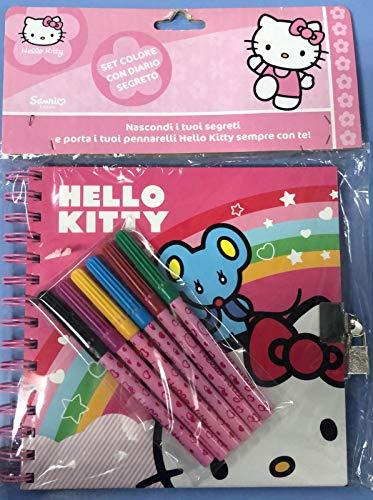 Giochi Preziosi Hello Kitty Set Colore con diario Segreto